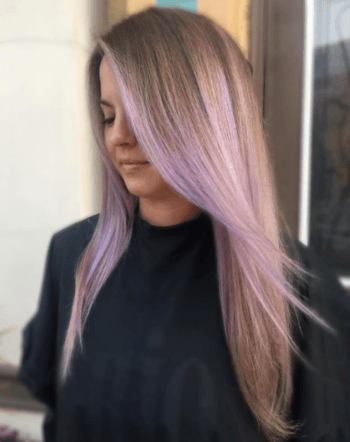 Light Purple Hair Is A Gorgeous Way To Play With Bolder Hair Colors.