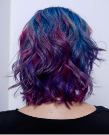 There Is Just Enough Of A Color Shift Infused In The Hair To Make It Vibrant And Creative