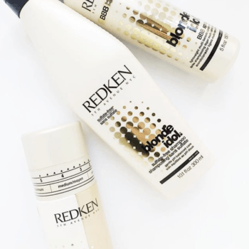 Use Blonde Idol BBB Spray as a leave-in conditioning treatment to help fill porosity.