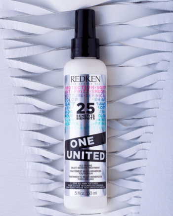 One United's leave-in conditioner may help make dealing with porous hair more manageable.