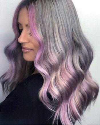 Silver Hair: Discover Natural and Colored Silver Haircolor ...