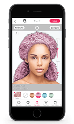 Wonder how you'd look with Redken pastel haircolor? Ty it with YouCam!