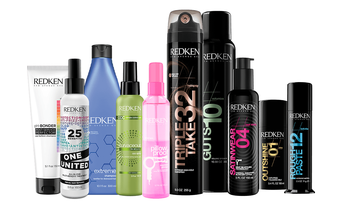 redken haircare hair styling hair color products