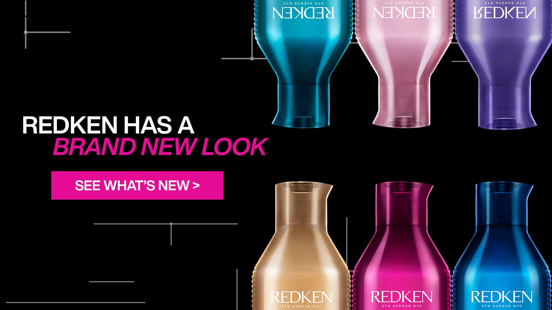 Redken Has Brand New Look